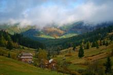 Уж реже солнышко блистало... В Карпатах осень / Вышковецкий перевал