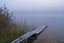 Озеро в тумане / ,,,,,,,,,,,,,,,,