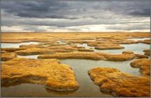островки... / Варандей — посёлок в Ненецком автономном округе.