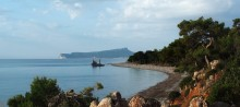 Морской пейзаж / Утро на побережье Средиземного моря