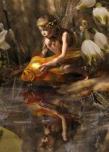 Фрагмент. Эльф и золотая рыбка. / сказка целиком тут http://www.photosight.ru/photo.php?photoid=2043473&ref=author