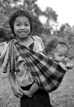 В лаосской деревне №4 / Смотри серию Лаос