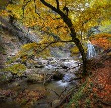 Осенняя / Водопад Джур-Джур, ноябрь