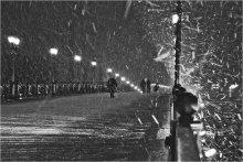 Московская метель / декабрь , налетевшая метель на мосту к  ХХС