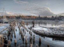 последний причал 2 / 1 января.ладожское озеро