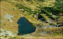 Про ледниковое озеро и моренные отложения / Черногорский хребет...