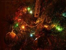 Новогодняя магия / Меня завораживают фото с огнями-звездочками - это необчно и волшебно. Сказка, одним словом=) Всех с наступившим 2012 - пусть он принесет Вам только хорошее!)