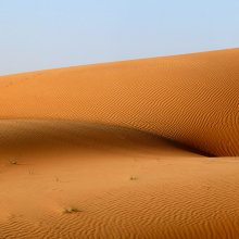 Волнительно или взгляд на пустыню старого пошляка / от слова волна