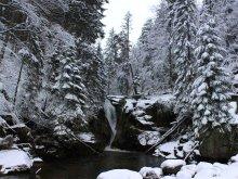 Водопад / зимний водопад