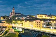 Весенний вечер / Гродно, Старый мост, Бернардинский костел