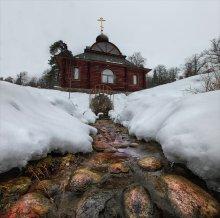 Святой источник / купальня Саввино-Сторожевского монастыря