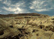 ПУСТЫНЯ / Кусочек пустыни недалеко от Мёртвого моря