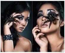 Spider Lady / www.alexvolot.com