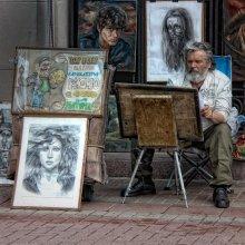 портреты, шаржи, карикатуры... / ******