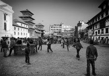 городская площадь / Непал. г.Катманду