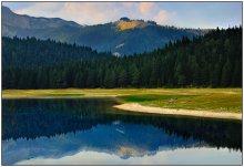 про Черное озеро / Черногория