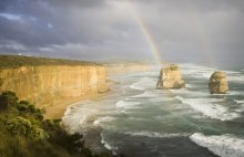 Сразу после дождя ... / 2011. Австралия. 12 Апостолов.