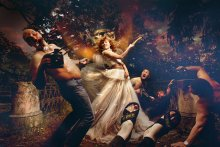 / Эпическая борьба между Nikon и Canon! Невесты выбирают Canon :)))