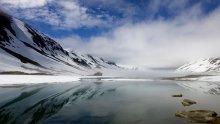 Норвегия,июль,вода и горы,солнце и туман. / ****