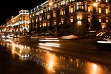 Огни города / Минск вечером