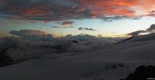 Закат / в горах