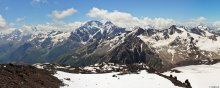 "Горы / Панорама с видом на Ледник ""семерка"""