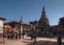 """городская жизнь / серия """"Непал"""" город Катманду"""