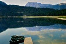 про тишину Черного озера / Черногория