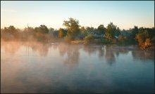 утро... / река Северная Двина