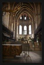 / interior in Bamberger Dom St.Peter und St. Georg