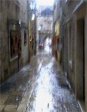 Дождь в старом городе / ....................................