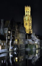 "Bruges / The old city of Bruges near the Belgian coast is called the "" Venice of the North "" because of its canals."