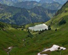 Seealpsee / Deutschland Obersdorf Nebelhorn