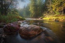 Амата в сентябре / Река Амата