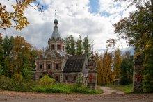 Церковь Александры Римской / п. Муромцево