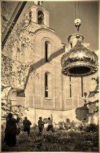 Подъём купола / Наш Храм