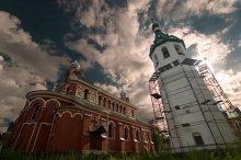 Церковь свт. Иоанна Златоуста Никольского мужского монастыря. / Cnfhfz Kfljuf