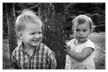 Мгновения детства ... / Модели: Нана и София