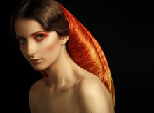 Defile de Orange / MUAH Elena Iluhina model Anna Kamluk