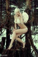 Forest angel / photo: Boris Bushmin model: Lena Malinina
