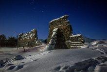 доисторический подснежник / замок в Крево