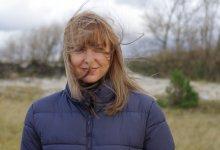 Natali / на берегу моря с ветром