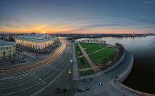 вечерняя стрелка / остальные 59 фото серии про весенний Петербург: http://egra.livejournal.com/4639.html