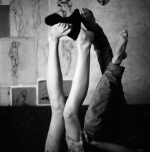 наши ноги спят врозь / Никита и Настя, 2012 СПБ