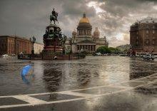 в Петербурге сегодня дожди / **************