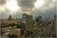 Москва с птичьего полёта / всё сказано :)