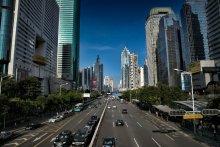 Shenzhen city / Город Шеньчжень. Shennan road