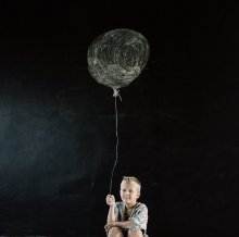 Стёпа, мастерская, август 2013. / портрет