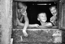/ Дети,деревня,счастливое время