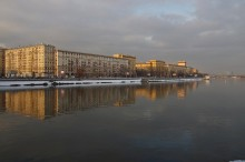 Набережная / Москва,Фрунзенская набережная